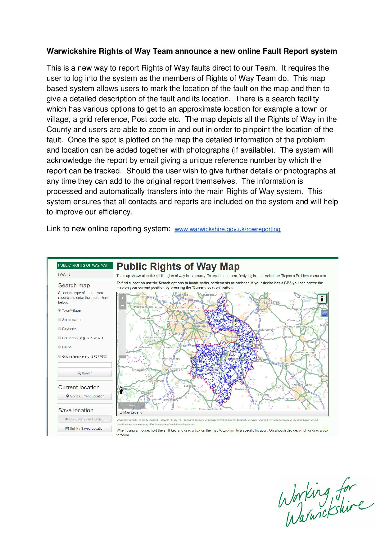 Rights of Way Team Fault Report system CAMSWeb-page-001